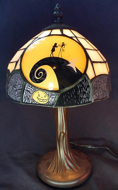 Nightmare Before Christmas Tiffany Lamp