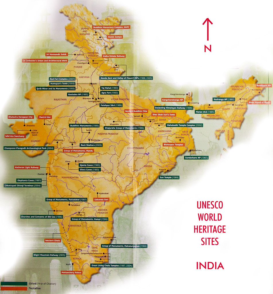 All sizes map of unesco world heritage sites india flickr download download the large 1024 size of this photo gumiabroncs Images