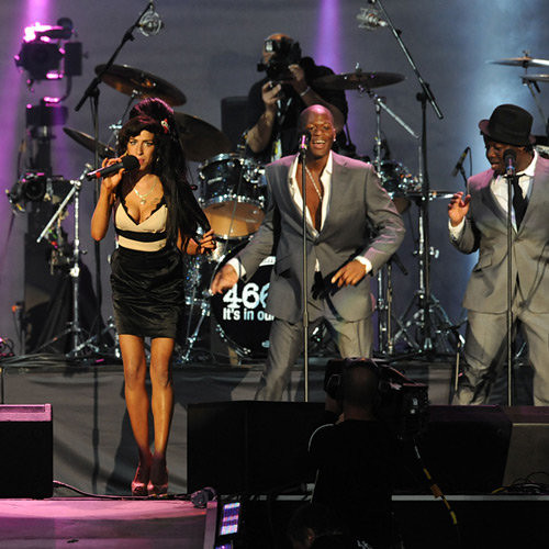 Zalon dancing with Amy Winehouse and Ade | ZalonMusic | Flickr Amy Winehouse