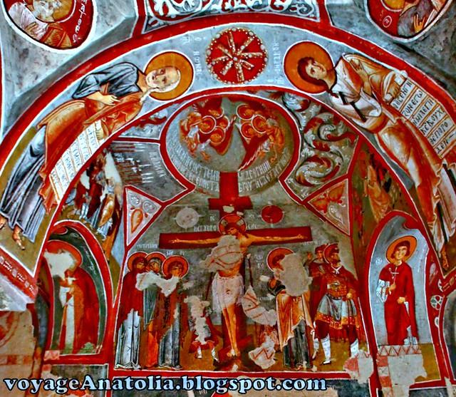 Fresco Art In Cappadocia Cave Church G 246 Reme National