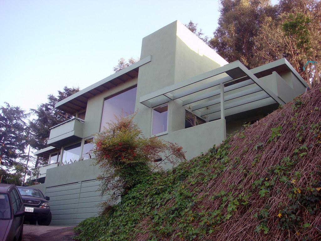 03c Droste House R M Schindler Hcm 837 E Los
