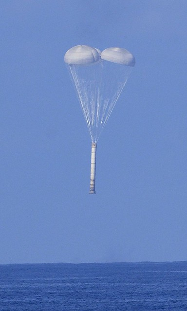 during a space shuttle landing a parachute deploys - photo #40