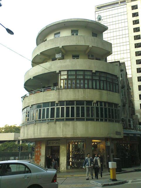 Hong Kong Old Building - Austin Road   Old building at ...