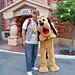 Kurtie and Pluto in Toontown