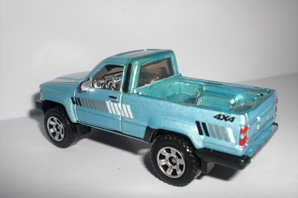 Toyota Tacoma 1985 A Matchbox Toyota 4runner Transformed