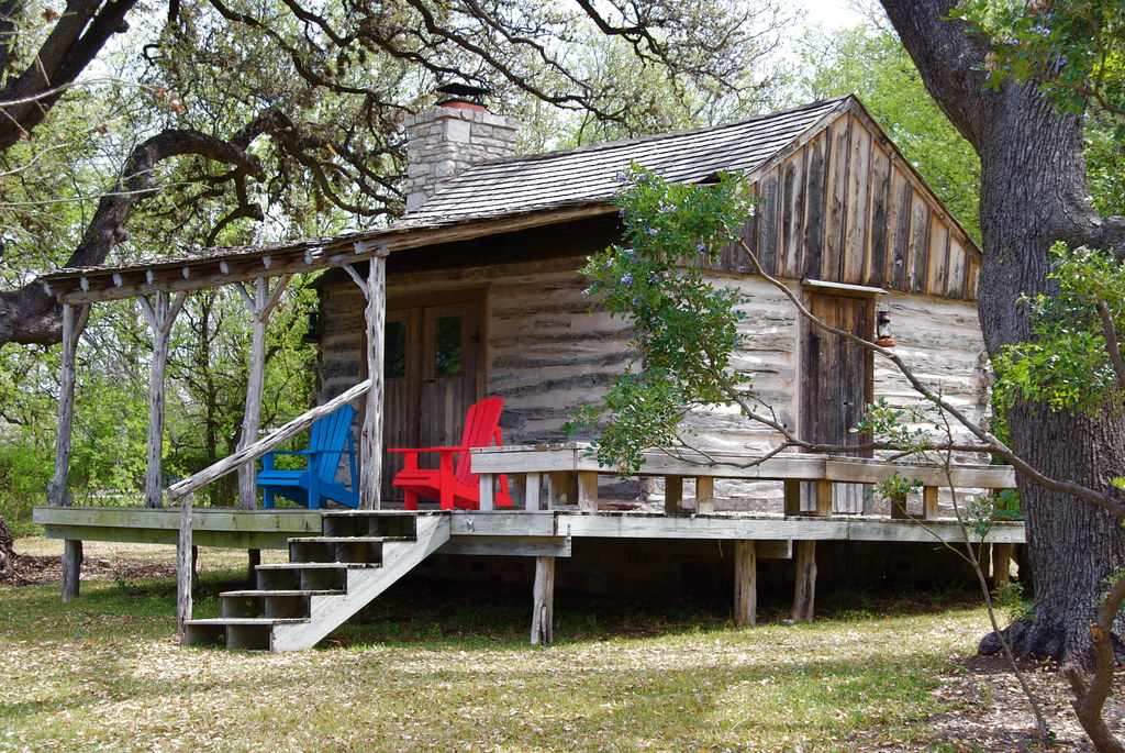 Cabin in the woods taken at lake lbj outside austin tx for Texas cabins in the woods