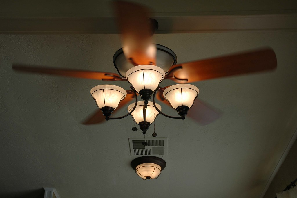 Updated Ceiling Fan Dining Room David Daniel Flickr