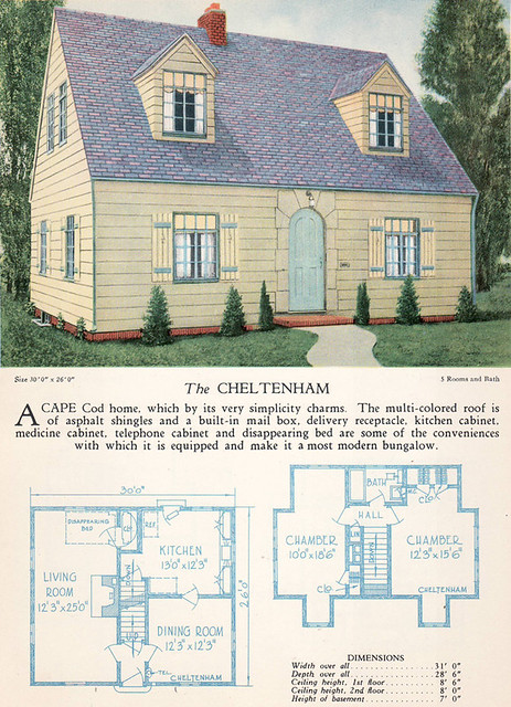 1928 home builders catalog the cheltenham from the for House builder online free