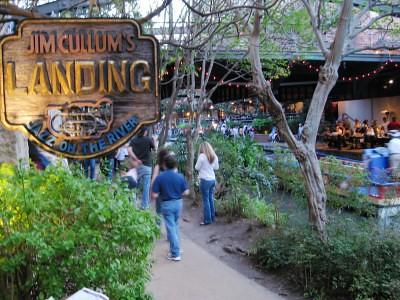 River Walk Entrance To Jim Cullum S Landing For Live Jazz