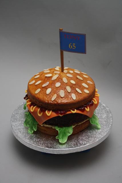 Tonys 65th Birthday Cake