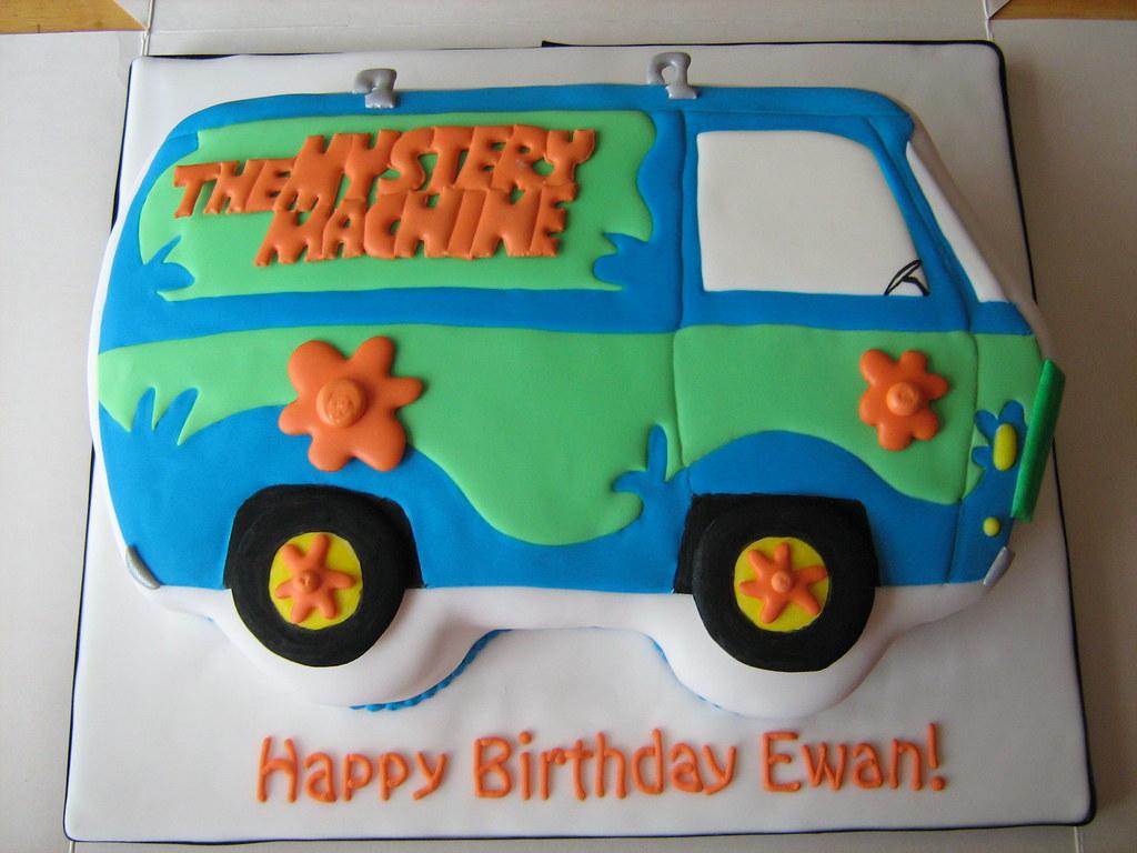Mystery Machine Scooby Doo Cake Pan