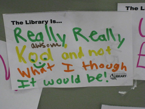 The Library is... | by Missouri River Regional Library