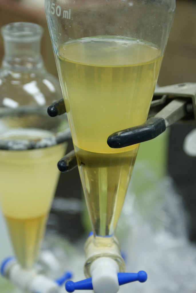 separation of organic liquids report essay Free essay: principles of chemistry lab i experiment 2 separation  lab  report: separation and purification of organic compounds:.