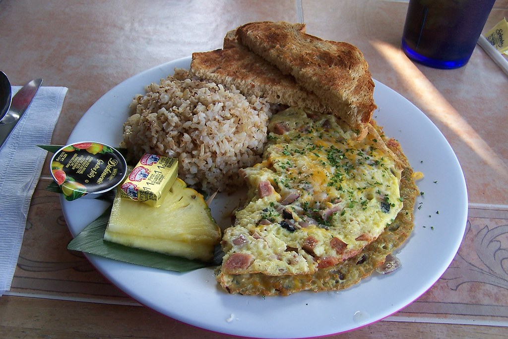 Big Island Breakfast At Water S Edge