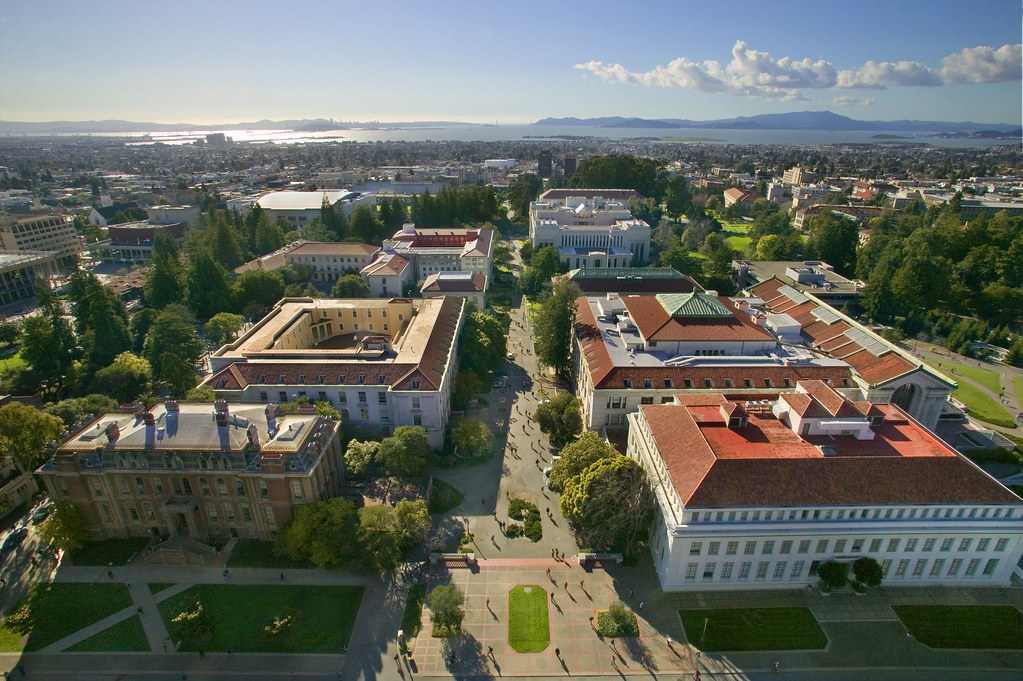 Uc >> UC Berkeley campus | photo taken from atop Campanile looking… | Flickr