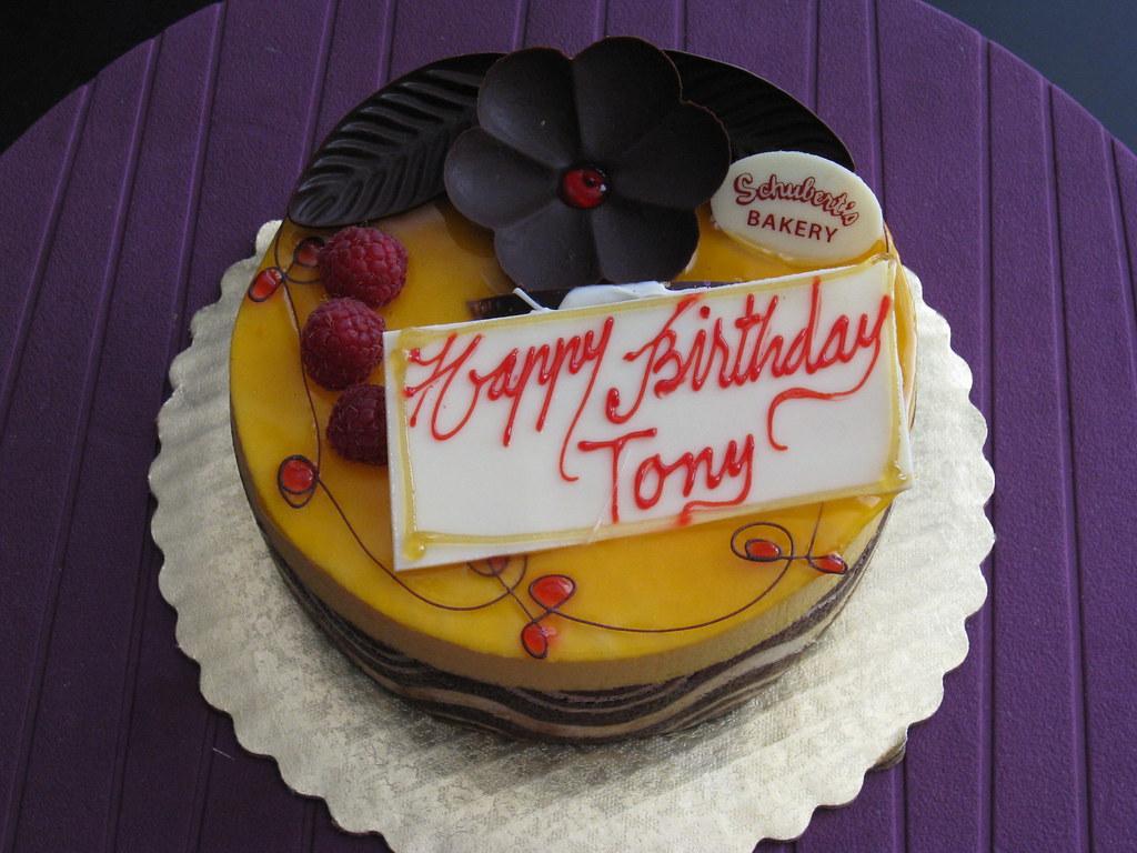 Happy Birthday Tony Cake