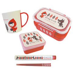 Decole: Little Red Riding Hood - Bento Lunch Set | by Japanese Gift Market : Official Flickr Page