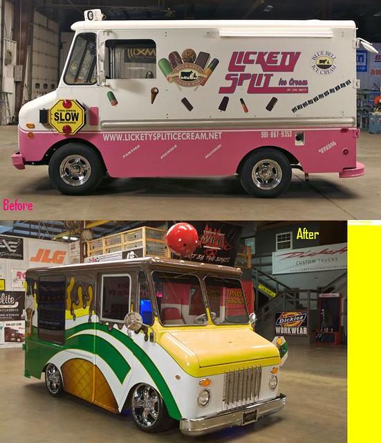 CMT Trick my Truck Joe Patty's Ice Cream Truck Brain Freez ...