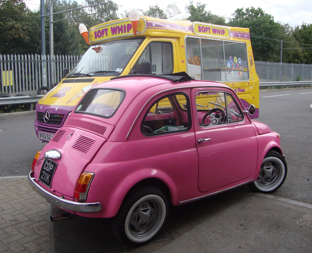 strawberry mr whippy anyone fiat 500 pink limited edition flickr. Black Bedroom Furniture Sets. Home Design Ideas