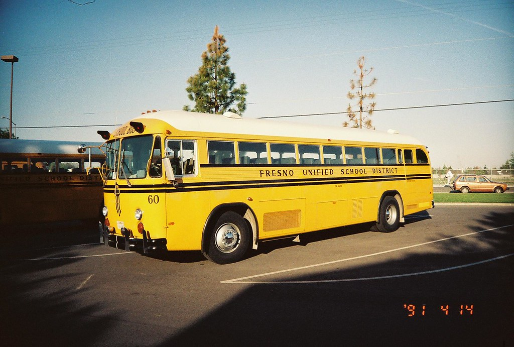 FRESNO UNIFIED SCHOOL DISTRICT BUS 60   Talk about ...
