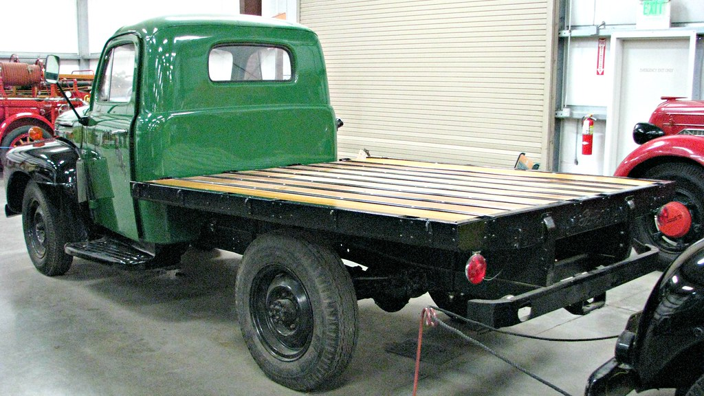Ford F Flatbed Truck Stake Bed