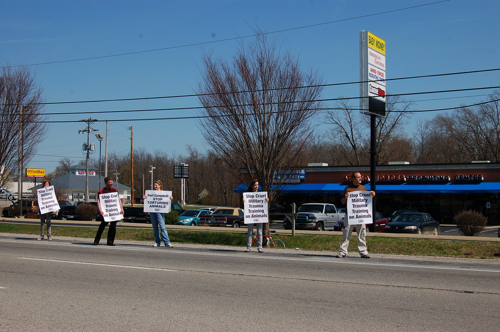 Ft Campbell Military Trauma Training Protest About A