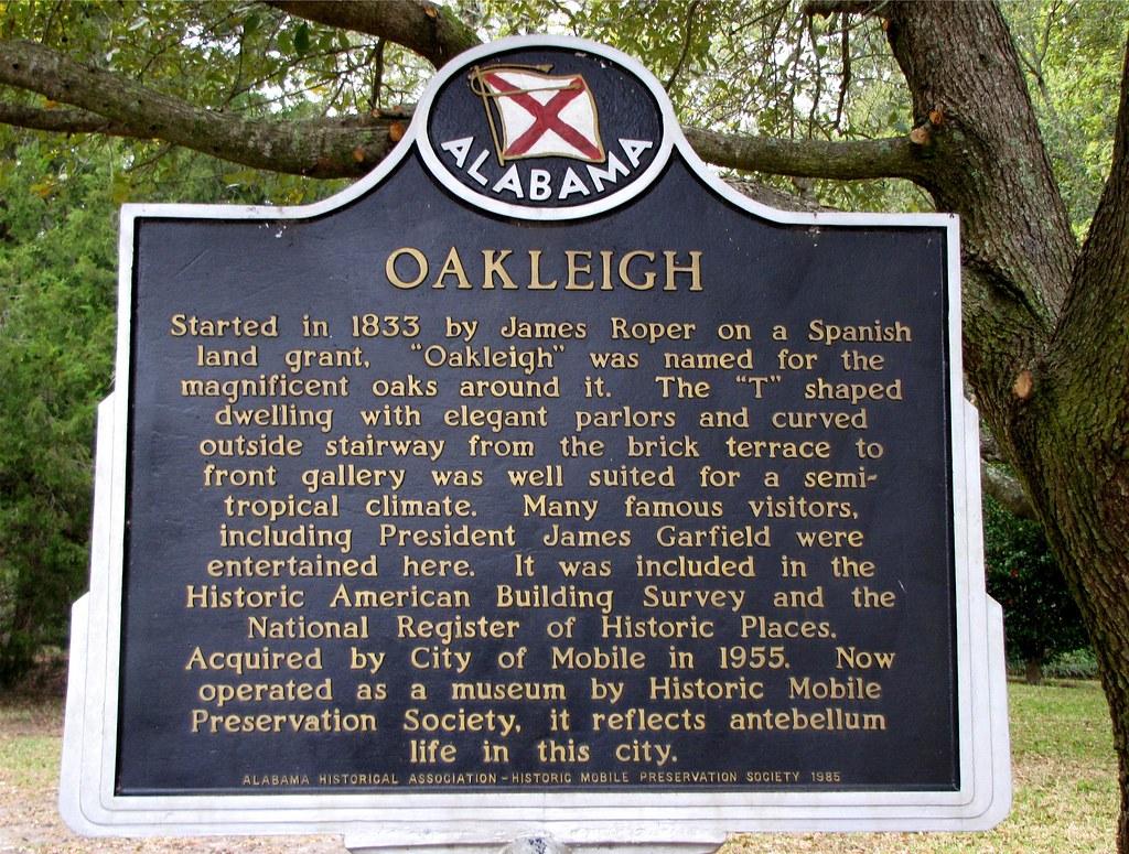 Oakleigh House Mobile Alabama Al Oakleigh Is A