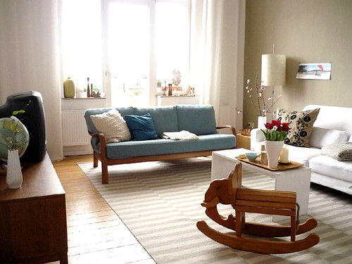 vintage modern apartment in germany blogged today on decor
