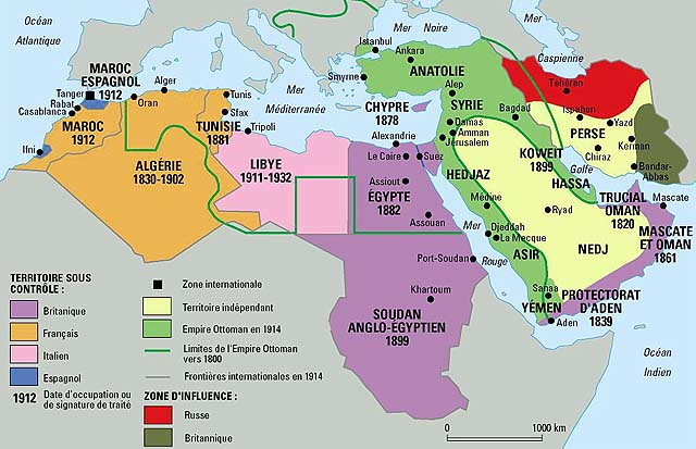Middle east map before world war one 1914 le monde diploma flickr middle east map before world war one 1914 gumiabroncs Image collections