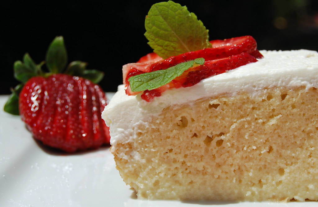 Tres Leches Cake From Box