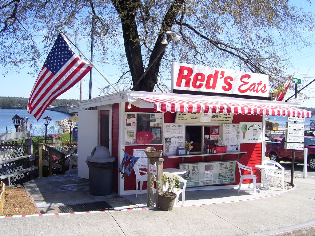 Red's Eats - Wiscasset, ME | Famous for their lobster roll. … | Flickr