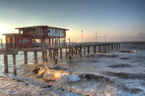 Galveston fishing pier flickr photo sharing for Galveston fishing pier report