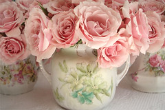 Vintage Floral China Bouquets | by such pretty things