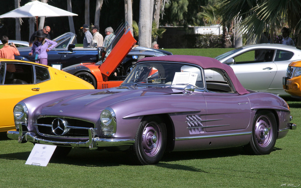 1957 mercedes benz 300sl fvl palm springs desert classic. Cars Review. Best American Auto & Cars Review