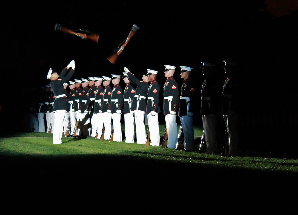 Silent Drill Team 8th And I