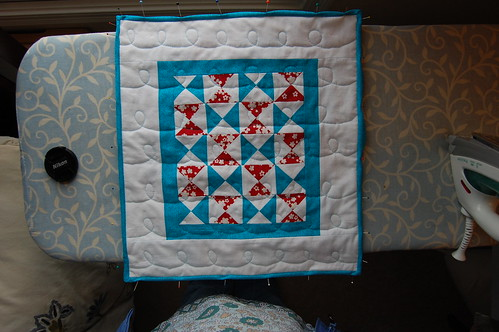 Doll quilt back | by smithiness