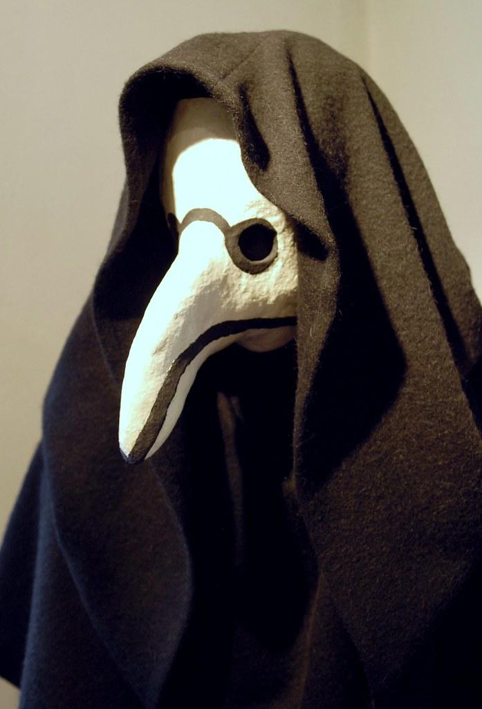 Beak Shaped Mask Plague Doctor Beak Mask