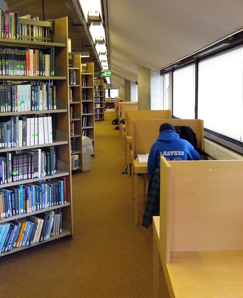 Study Rooms In The Library Byu