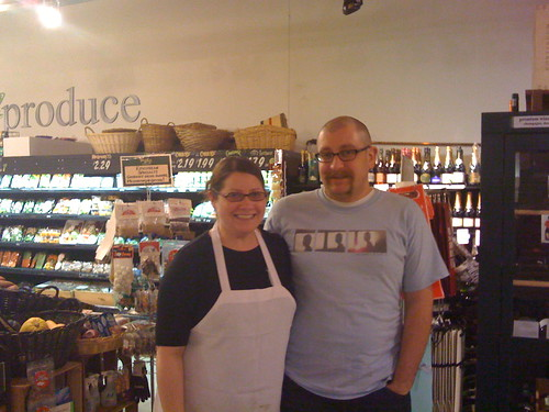 Lisa and Chris Dillman at the Hills Market | by swampkitty