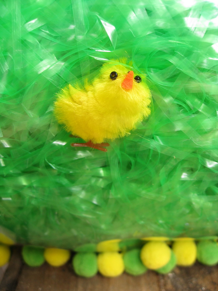 Detail Of Easter Chicks Pillow I Saw The Packages Of