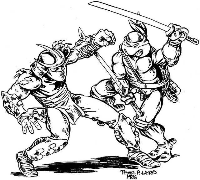 tmnt coloring pages shredder machine - photo#5