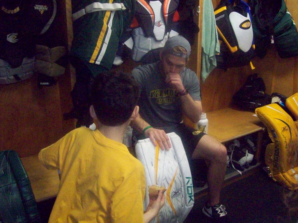 Hockey Locker Room Tour