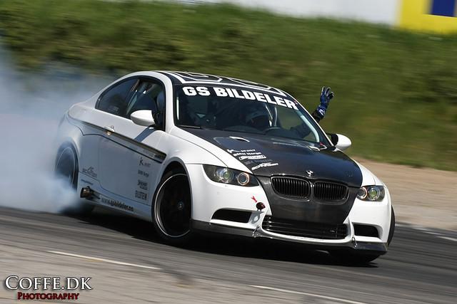 Drifting Bmw M3 E92 Stian Sorlie Drifting In Gs Bildeler S Flickr