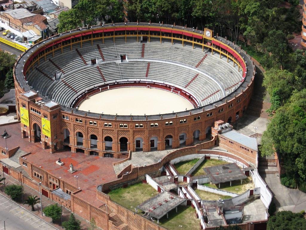 Plaza de Toros La Santa María. Bogotá, Colombia  Vista desd…  Flickr
