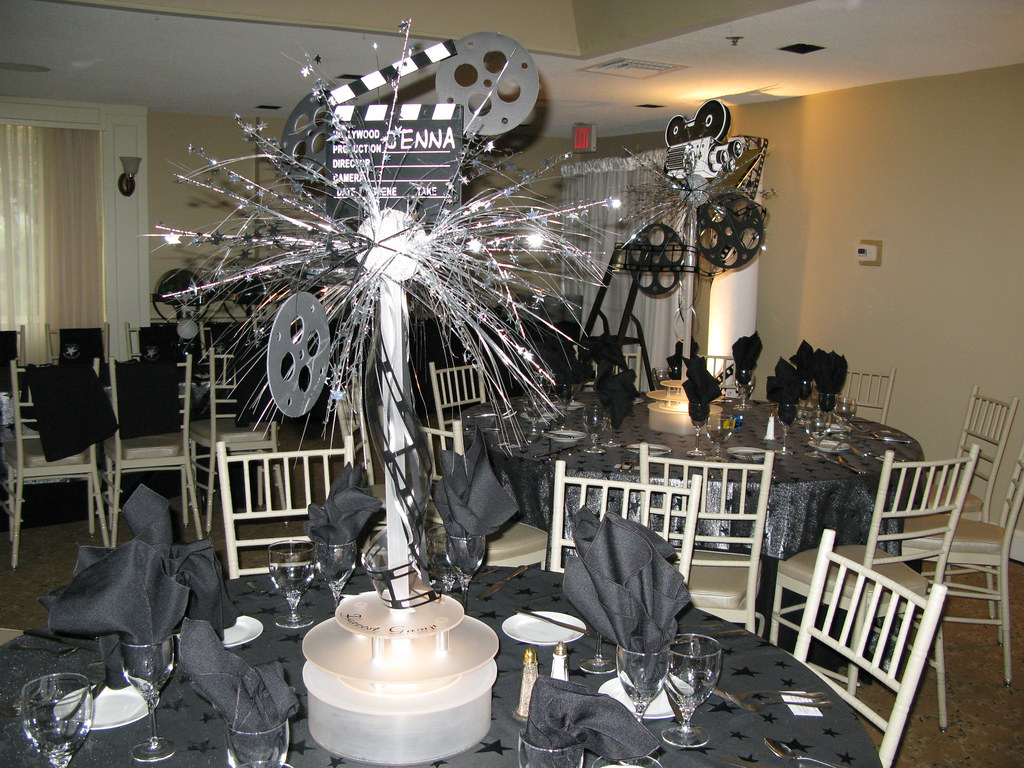 Hollywood Theme Centerpiece The Prop Factory Flickr