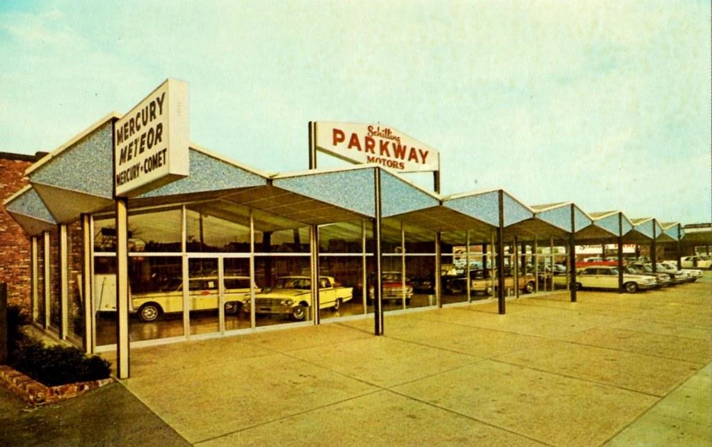 Schilling Parkway Motors Mercury Memphis Tn 1963 Flickr