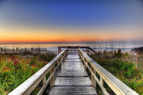 Sunrise on the Boardwalk | by arturodonate
