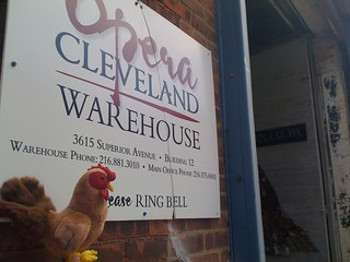 Outside the warehouse | by Opera Cleveland
