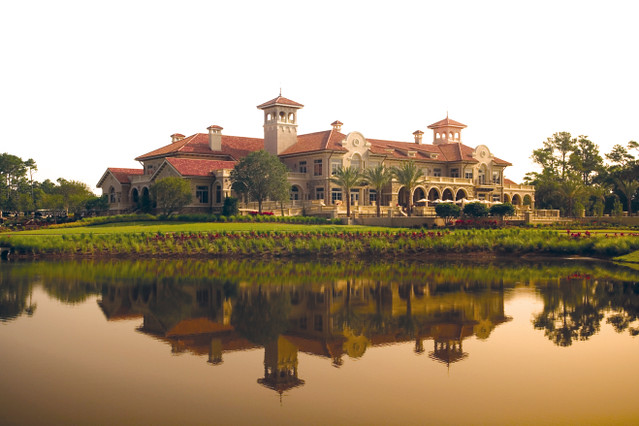 Clubhouse At The Tpc Sawgrass In Ponte Vedra Beach Fl