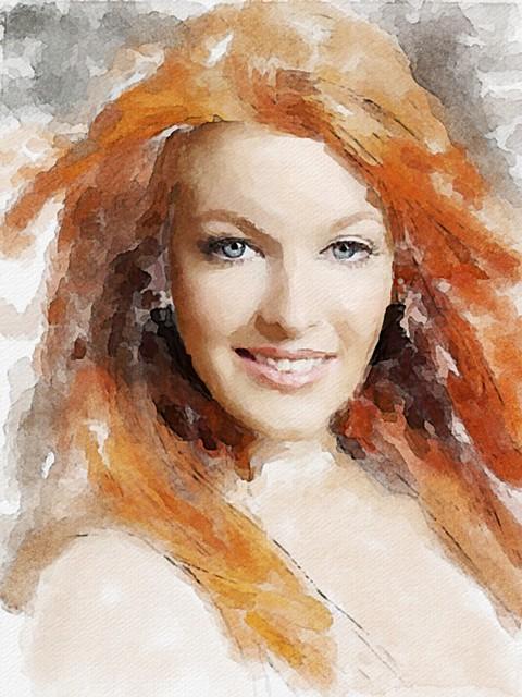Digital redhead photos reserve, neither